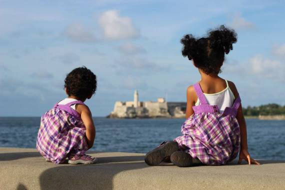 My girls on the malecon